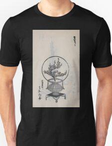 Yenshu ryu ikebana hiak bin no zu shiki konzatsu Flower arrangement in the Enshu style V1 1897 0028 T-Shirt