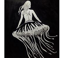 Jellyfish Girl 2 Photographic Print