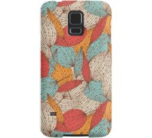 Romantic leaves Samsung Galaxy Case/Skin