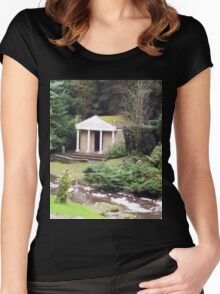 Temple of the Nymphs  Women's Fitted Scoop T-Shirt
