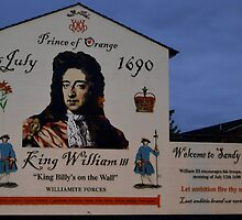 """ King Billy's on the Wall"" by oulgundog"