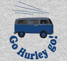 Go Hurley Go! One Piece - Long Sleeve