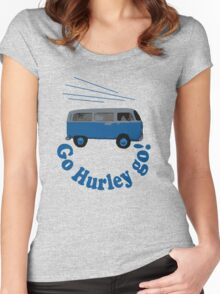 Go Hurley Go! Women's Fitted Scoop T-Shirt