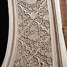 Alabaster Carved Archway - Marrakech by Alison Howson