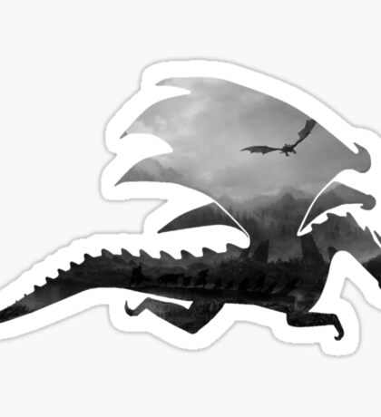 Dragon inception  Sticker