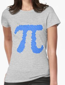 Pi (Mosaic Texture) Womens Fitted T-Shirt