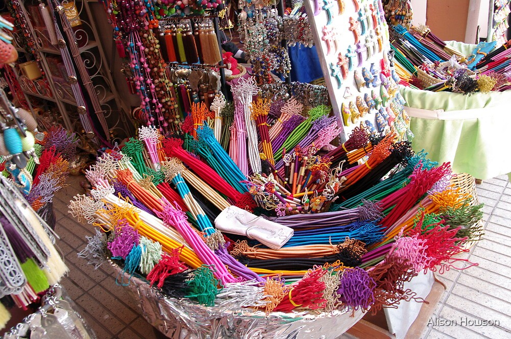 Colour, Marrakech by Alison Howson