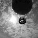 Balloon in park in Torquay on a nice sunny day in April by Tony Blakie
