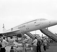 BA Concorde G-BBDG at Farnborough by Christopher Ware