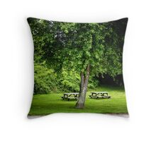 Jamestown RI USA Throw Pillow