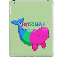 Polysexuwhale - with text iPad Case/Skin
