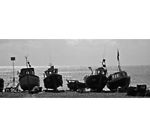 Fishing Boats - Beer, Devon Photographic Print