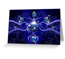 The Water Elemental Spirit Greeting Card