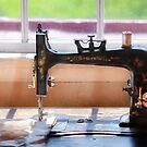 Sewing Machine - A stitch in time by Mike  Savad
