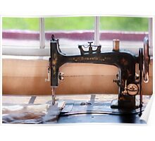 Sewing Machine - A stitch in time Poster