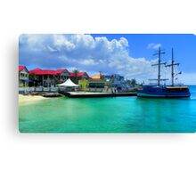 Cayman Colors Canvas Print