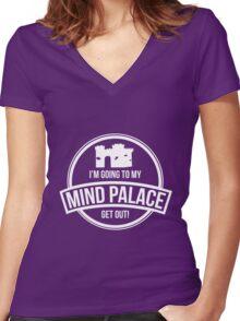 Sherlock - Mind Palace Women's Fitted V-Neck T-Shirt