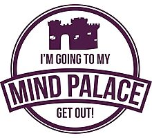 Sherlock - Mind Palace Photographic Print