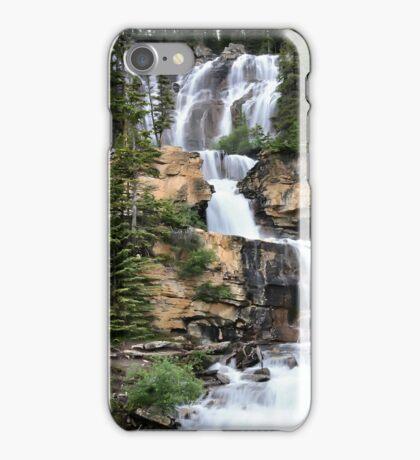 Tangle Falls, Jasper National Park iPhone Case/Skin