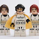 Elvis trooper with Fem-troopers by Kevin  Poulton - aka &#x27;Sad Old Biker&#x27;