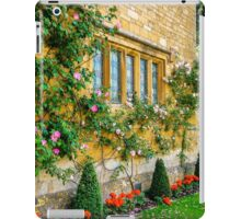 Climbing Roses, Flowers & Architecture. iPad Case/Skin