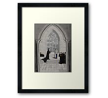 Professors Holmes and Watson Framed Print