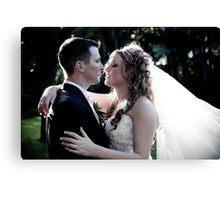 Romantic Embrace Canvas Print