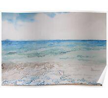 Sky and Ocean Poster