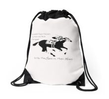 The Greatest Race Horses.... Drawstring Bag