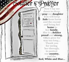 Soldier's Prayer for Daughters by ginkelmier