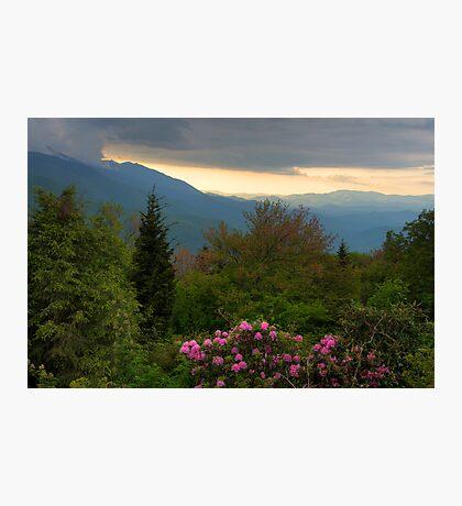 Mountain Evening Photographic Print