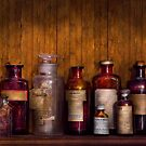 Pharmacy - Liniment, Lozenges, & Antiseptic by Mike  Savad