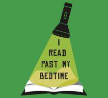 I Read Past My Bedtime Kids Tee