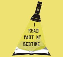 I Read Past My Bedtime Kids Tee