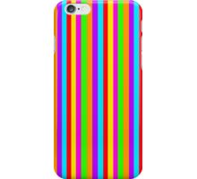 Red and Yellow and Pink and Green, Orange and Purple and Blue iPhone Case/Skin