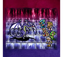 FF4 Bahamut Battle Photographic Print