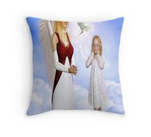 Heavenly Gift Throw Pillow