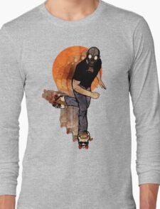 Skull Skates Long Sleeve T-Shirt