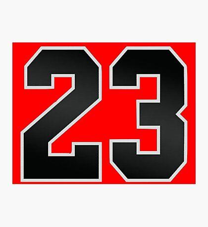 Jordan 23 Photographic Print