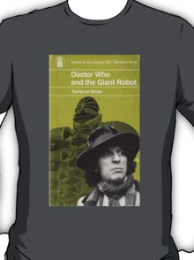 Doctor Who and the Giant Robot - Penguin style T-Shirt