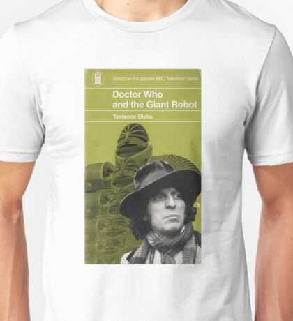 Doctor Who and the Giant Robot - Penguin style Unisex T-Shirt