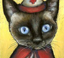 Nurse cat by tanyabond