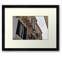 High Chair Framed Print