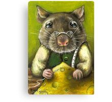 Rat the tailor Canvas Print