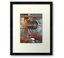 Orange Wings (AIRPORT) Framed Print