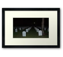 Our Fallen Men & Women Framed Print