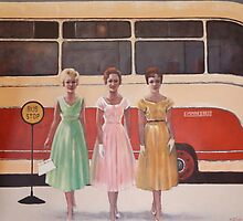 Bus Stop by StellaArt