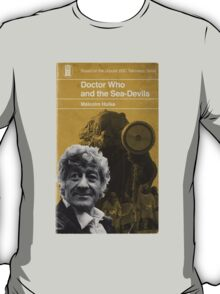 Doctor Who and the Sea-Devils - Penguin style T-Shirt