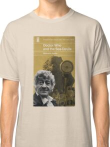 Doctor Who and the Sea-Devils - Penguin style Classic T-Shirt