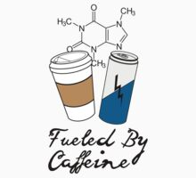 Fueled By Caffeine One Piece - Long Sleeve